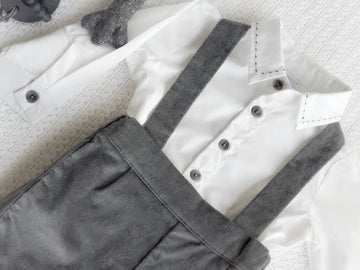 Baby Boy Two Piece Classic Short & Shirt Set