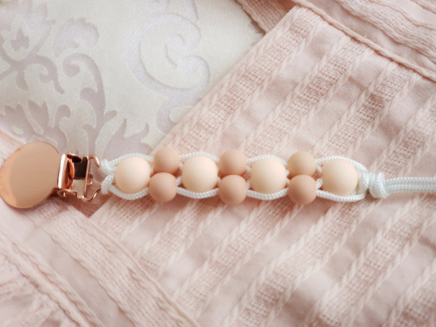 The Angelica Newborn & Crawler Clip - Perfect Peach