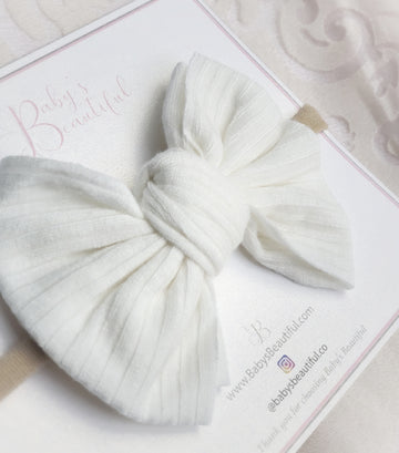 Sweet Cotton Baby Bow Headband