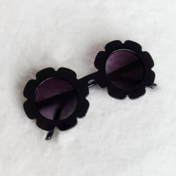 Baby Flower Sunglasses - Cool Black