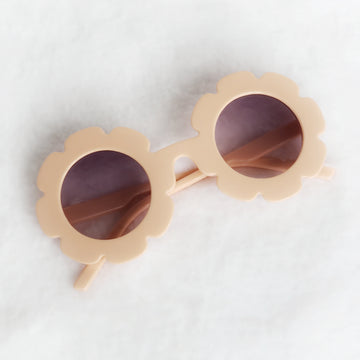 Baby Flower Sunglasses - Pretty Peach