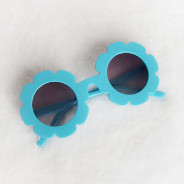 Baby Flower Sunglasses - Sky Blue