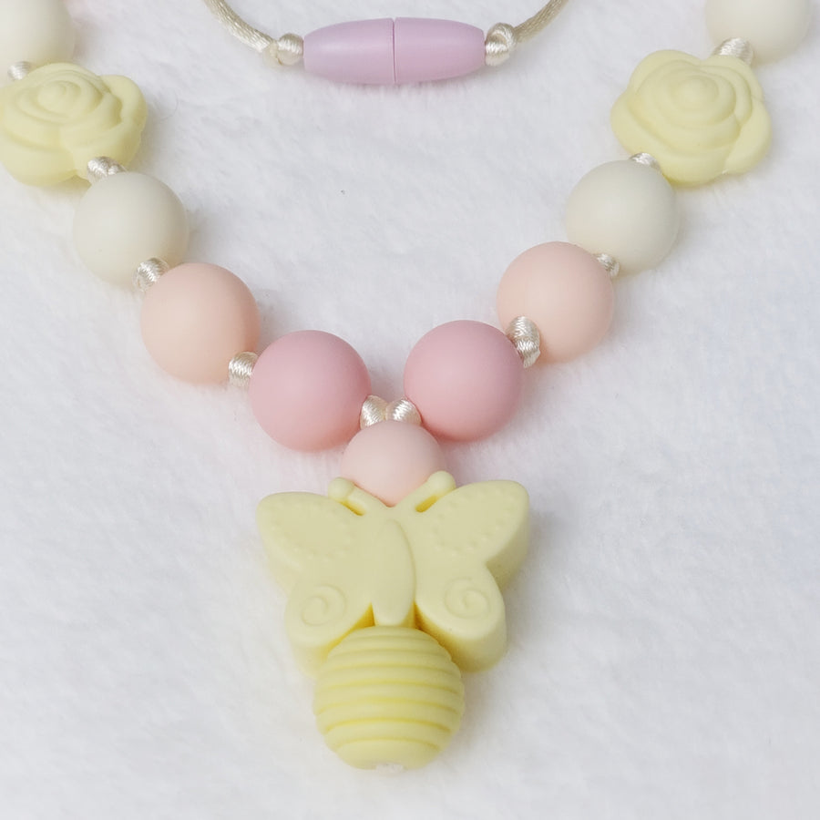 Girls Pretty Butterfly Necklace
