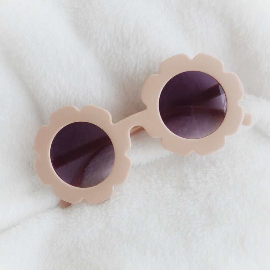 Baby Flower Sunglasses - Soft Blush