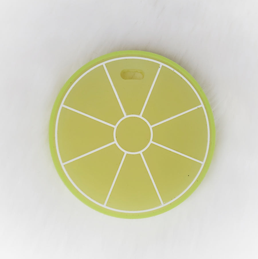 Slice of Lime Silicone Teether