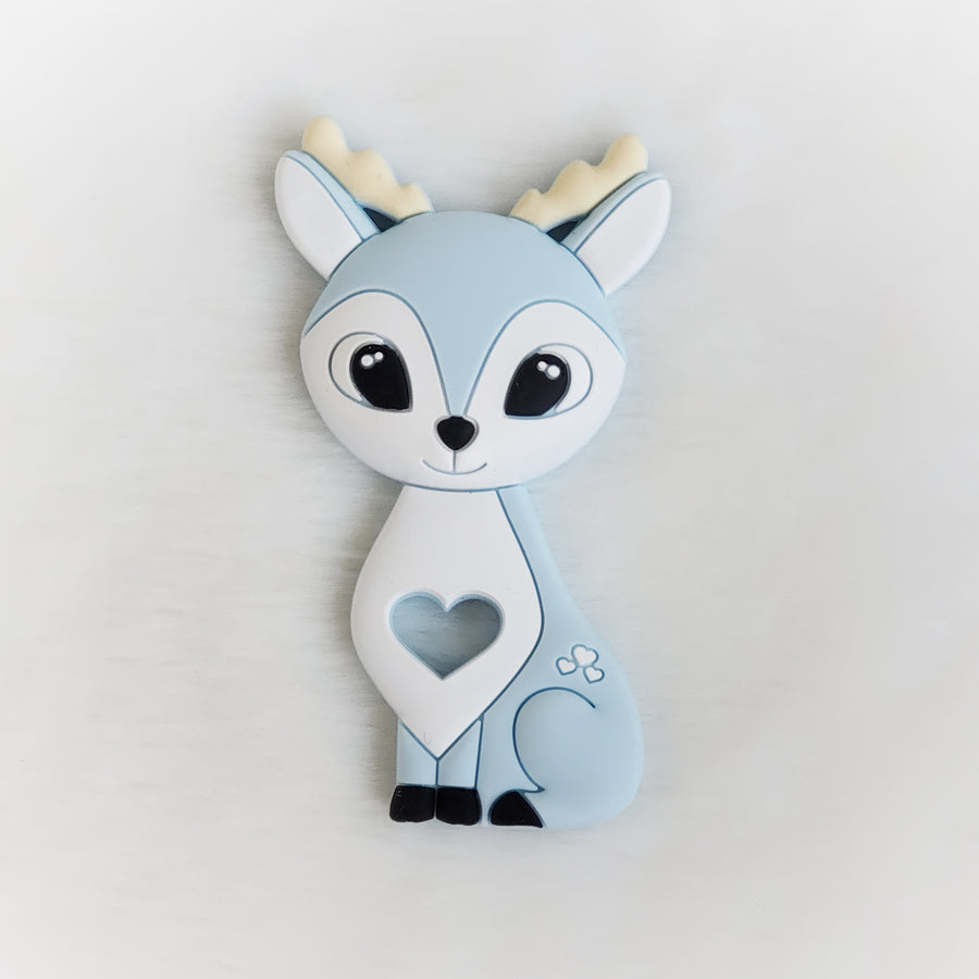 Blue Deer Silicone Teether