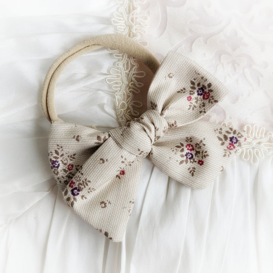 The Prettiest Floral Cotton Knot Bow Headband - 3 Fall Varieties