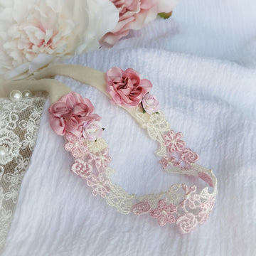 The Rose Fairy Princess Lace Headband
