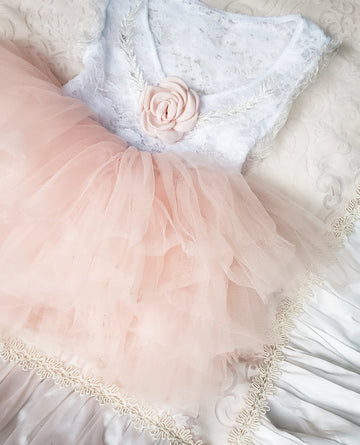 The Princess Full Tutu ~ Peach Puff