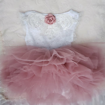 The Princess Full Tutu ~ Dusty Rose