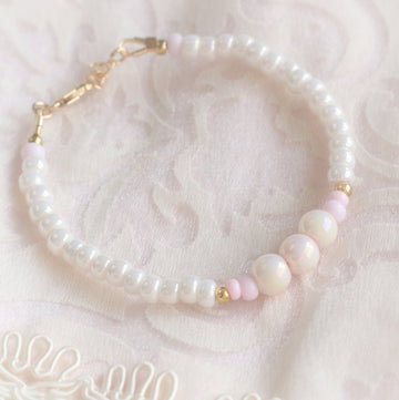 The Beautiful Celeste Dainty Baby Bracelet - 14Kt Gold Fill