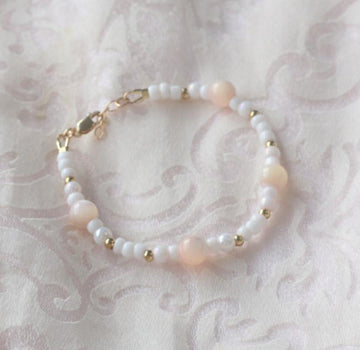 The Beautiful Celine Dainty Baby Bracelet - 14Kt Gold Fill