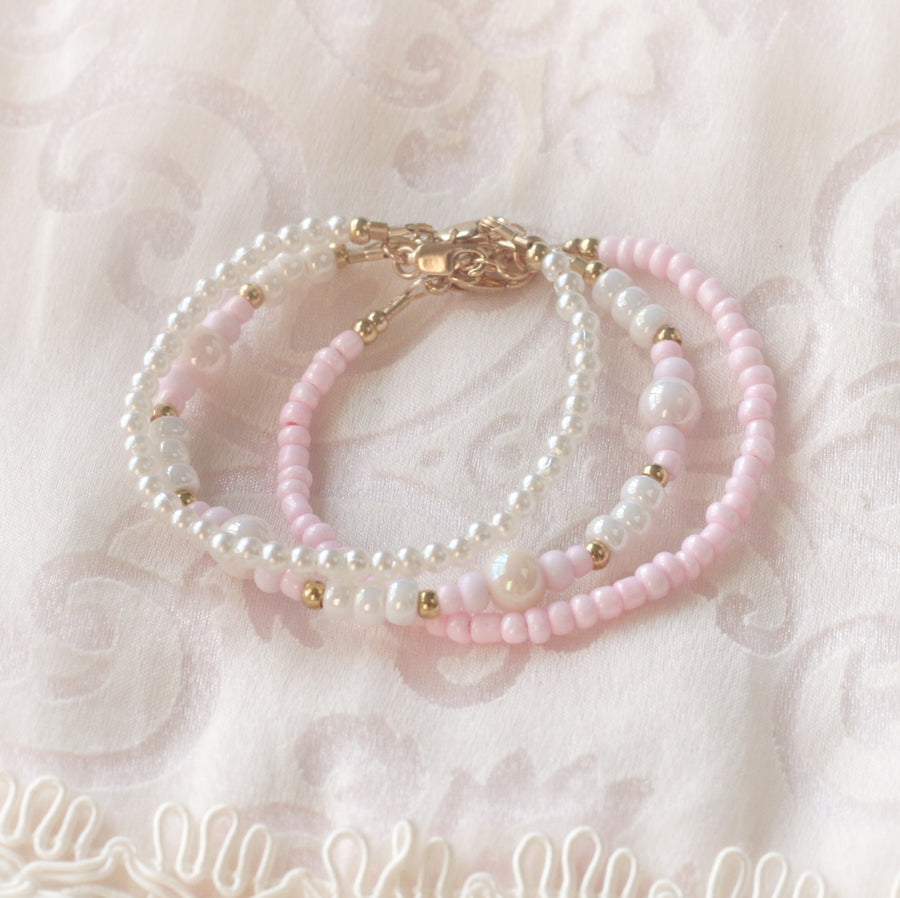 The Beautiful Arya Dainty Baby Bracelet - 14Kt Gold Fill