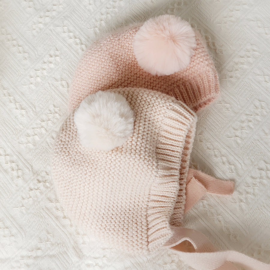 The Softest & Warmest Baby & Toddler Hat Ever - Fall Blush