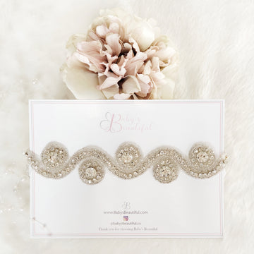 Sparkle Diamante Headband - for photography