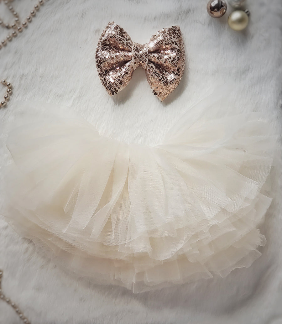 The Princess Tutu ~ Ivory Cream Puff