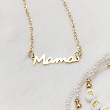 Special Mama Necklace - 18Kt Gold Plated