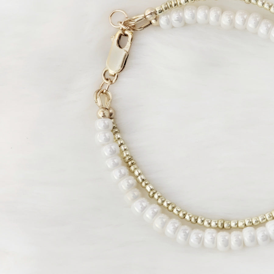 The Beautiful Angelic Dainty Baby Bracelet - 14Kt Gold Fill