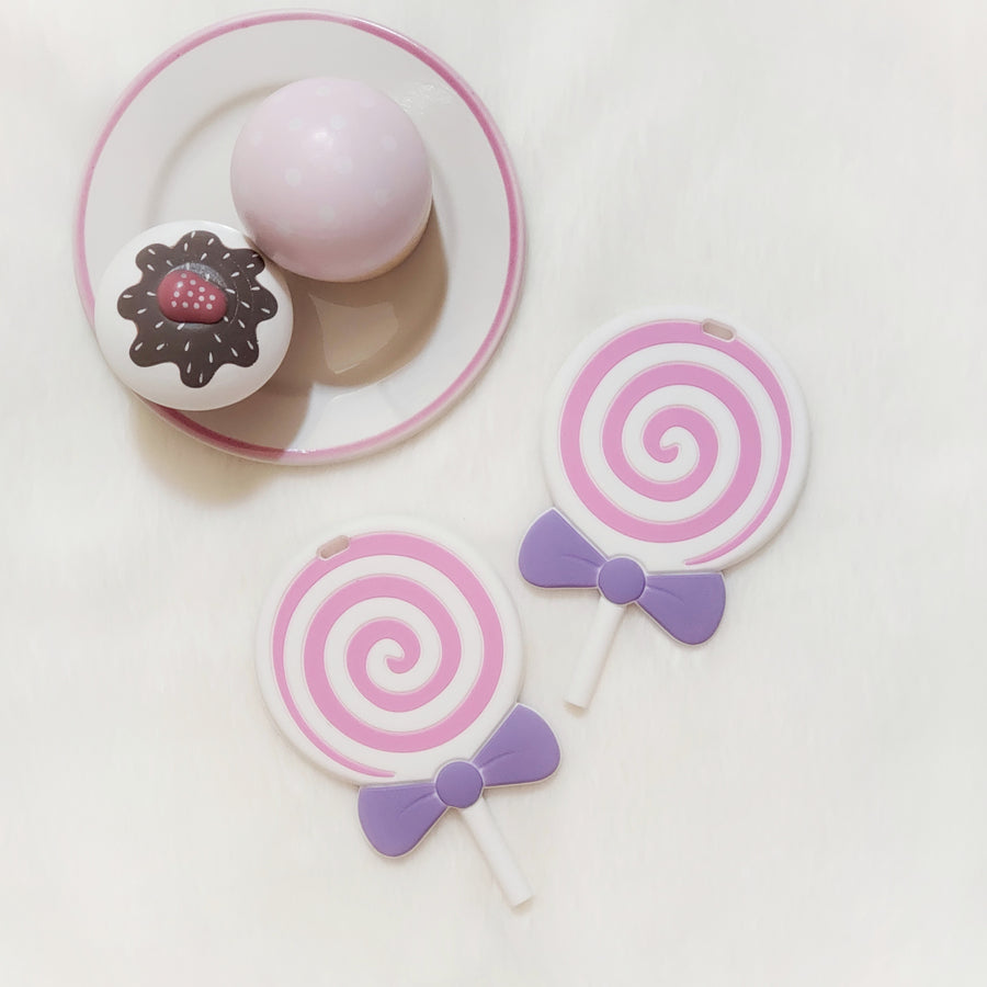 My Sweet Lollipop Teether - Strawberry Swirl