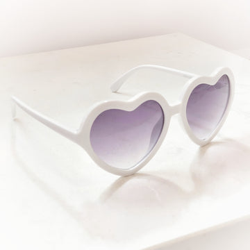 Sweetheart Sunglasses ~ Angelic White