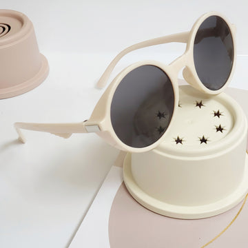 360 UV Protection Sunglasses ~ Light Blushing Ivory