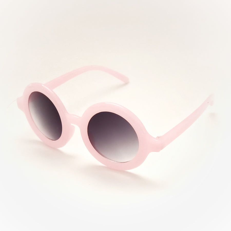 Retro Candy Pink Crystal Sunglasses