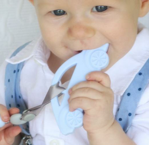 My First Car Teether & Teething Clip
