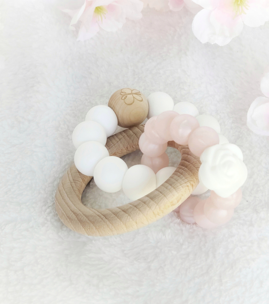 The Rosewood Teething Rings