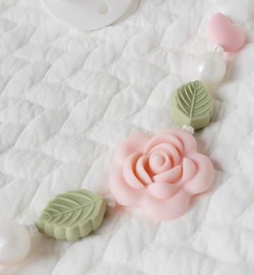 My Darling Rose Teething Clip