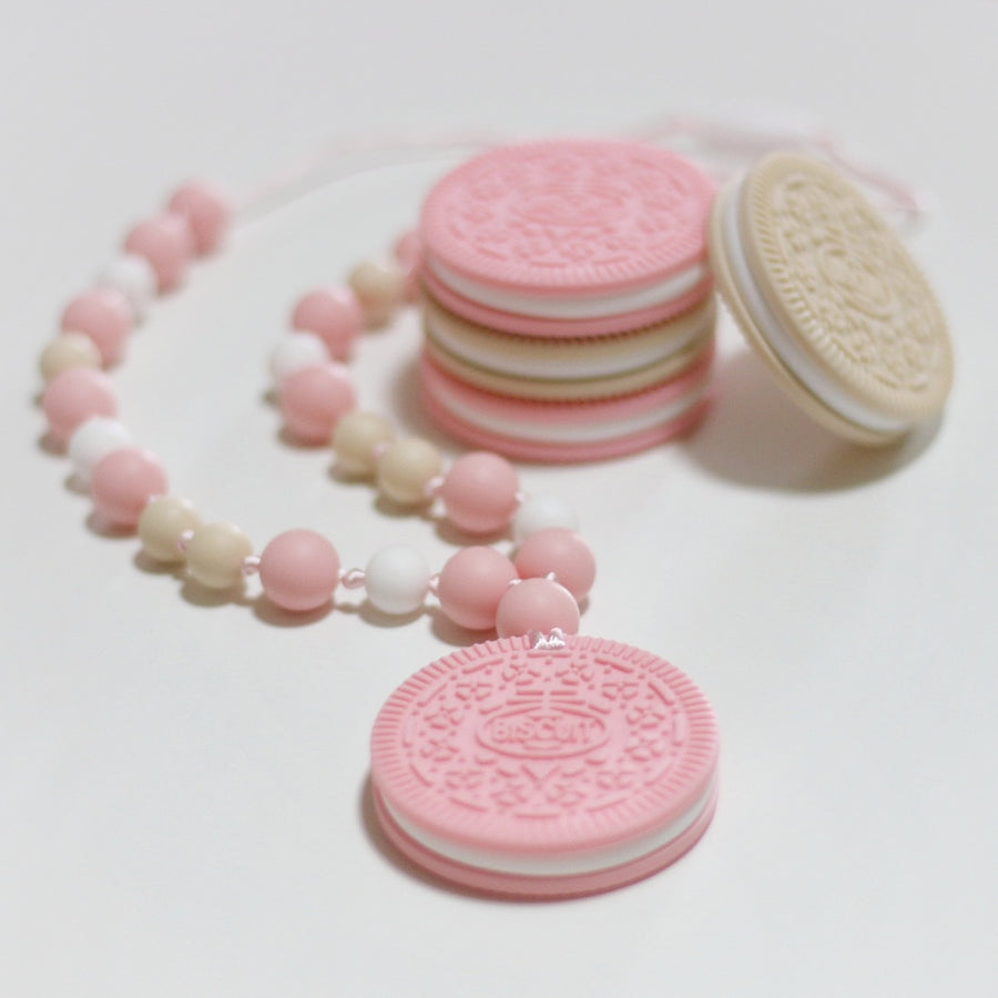 My Cookie Teether - Strawberry Cream