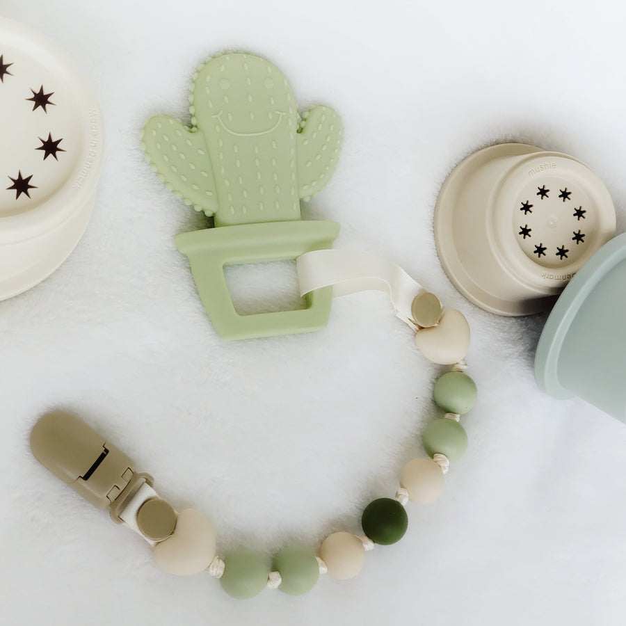My Cool Cactus Teether & Teething Clip
