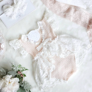 The Beautiful Anastasia Lace & Soft Knit Outfit