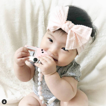 The Silky Soft Cable Baby Bow Headbands