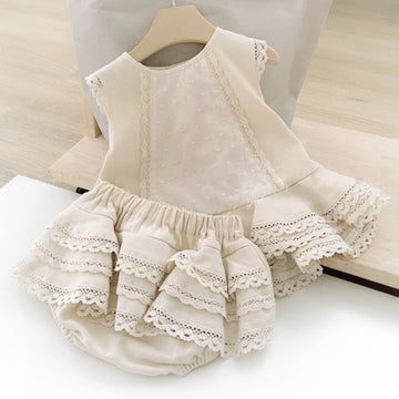 The Loveliest Neutral Cotton Set