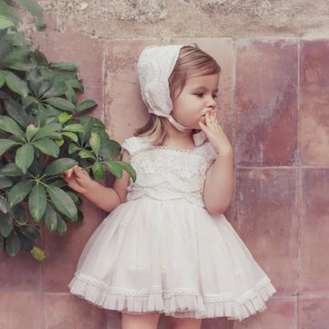 The Dreamiest Sweet Little Princess Dress ~ Pale Pink