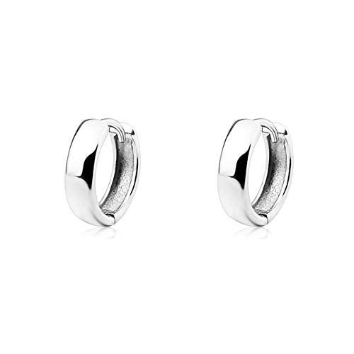 Lina Sterling Silver Huggies