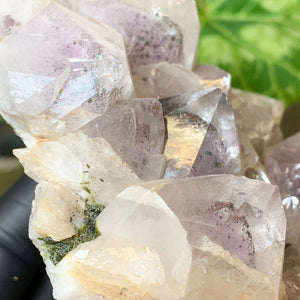 Load image into Gallery viewer, Included Amethyst Cluster with Epidote Crystals and Phantoms from Sichuan, China