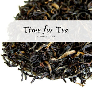 Time For Tea Box Single (1 month) Box - The Not Busy Company - #product_description#