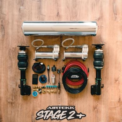 NEW Stage 2 PLUS Full Air Ride kit - Airtekk 3p Version