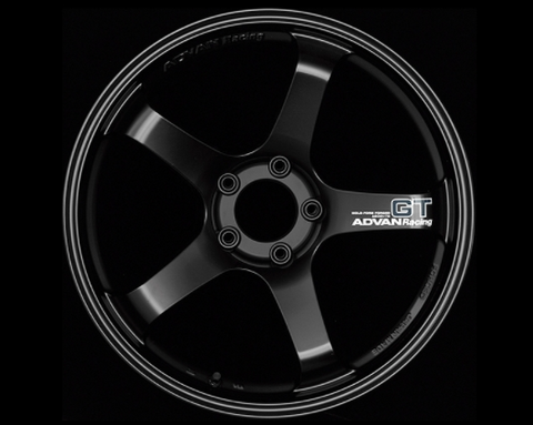 Advan GT Wheel 19x10.5 5x114.3 +15mm Semi Gloss Black