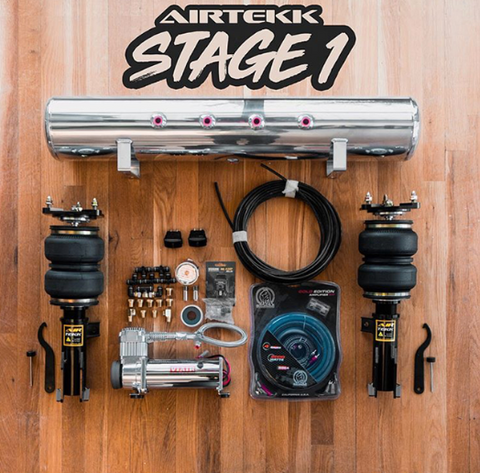 Air Tek Stage One Full Air ride Kit - Any Make or Model