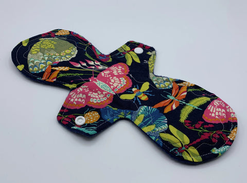 "11"" Bright Moth Moderate Absorbency Cloth Pad"