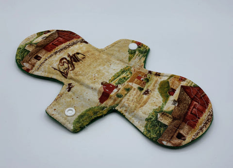 "10"" Farm Moderate Absorbency Cloth Pad"