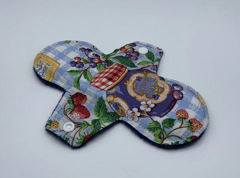 "8"" Fruit Jam Moderate Absorbency Cloth Pad"