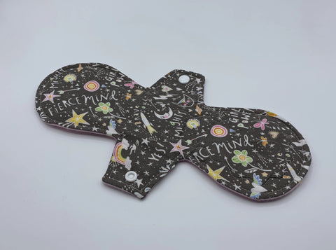 "11"" Unicorn Moderate Absorbency Cloth Pad"