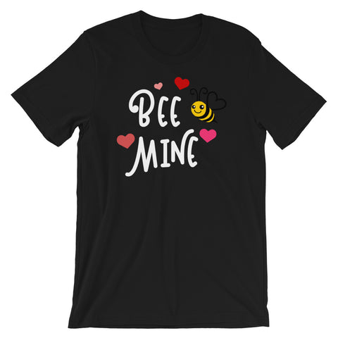 Please Bee Mine Short-Sleeve Unisex T-Shirt