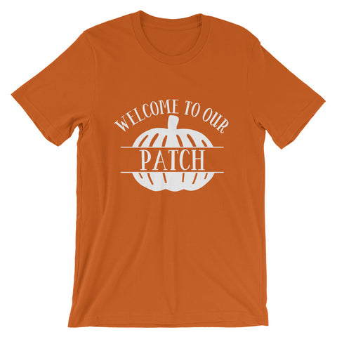 Welcome to Our Patch Short-Sleeve Unisex T-Shirt