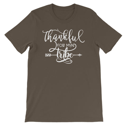 Thankful for my Tribe Short-Sleeve Unisex T-Shirt