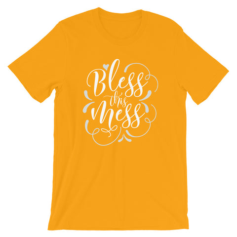Bless This Mess Short-Sleeve Unisex T-Shirt