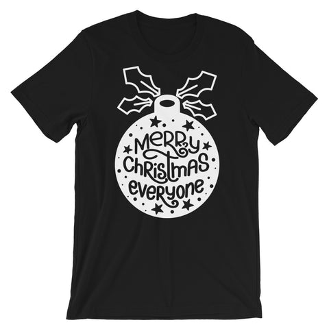 Merry Christmas Everyone Short-Sleeve Unisex T-Shirt